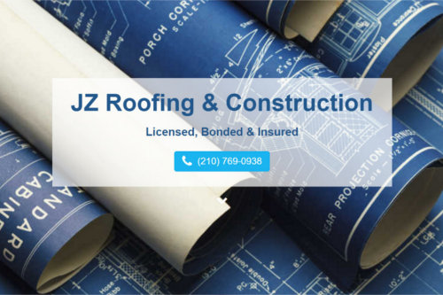 JZ Roofing & Construction Website